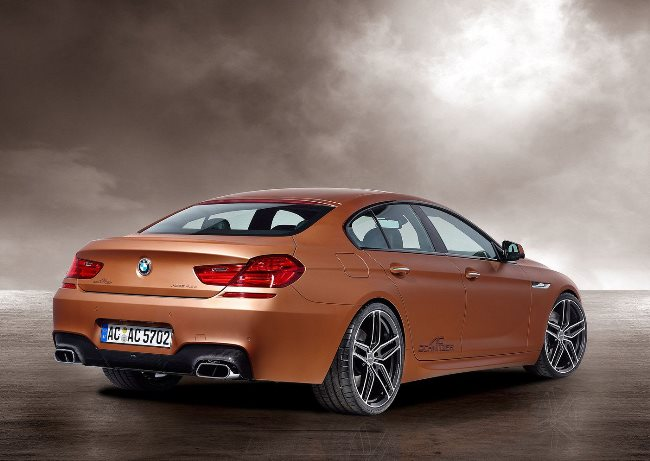 Дизельный BMW Gran Coupe: тюнинг AC Schnitzer