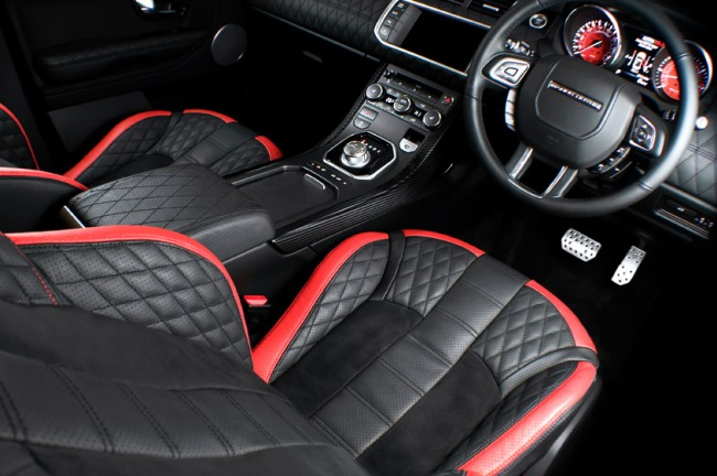 Женева 2013: новинка Kahn Design Fuji White Range Rover Evoque RS250