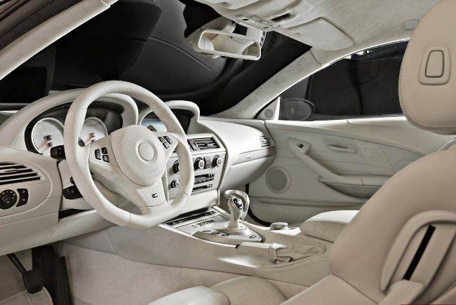 Салон BMW M6 от тюнинг-ателье G-Power