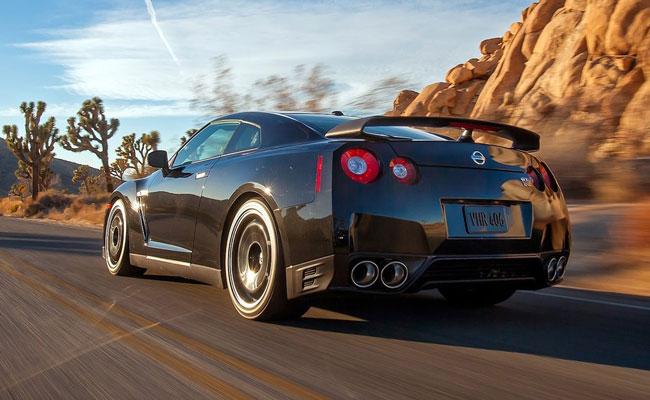 Купе Nissan GT-R Track Edition