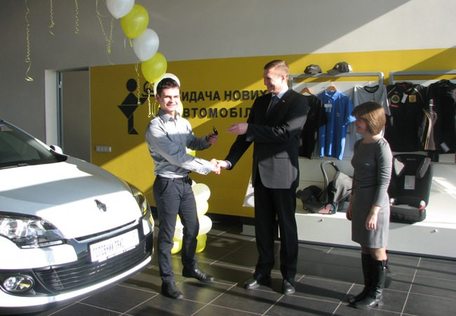 Выигранный Renault Megane