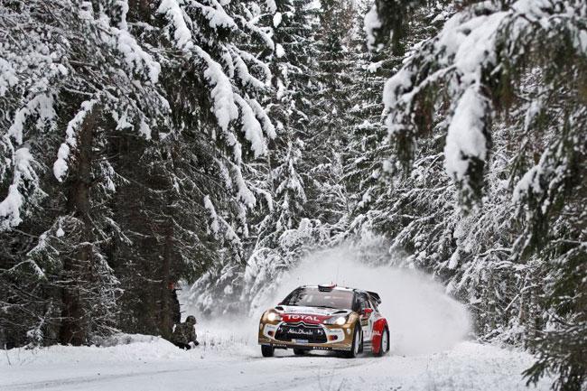 Rally Sweden, день первый: Volkswagen атакует!