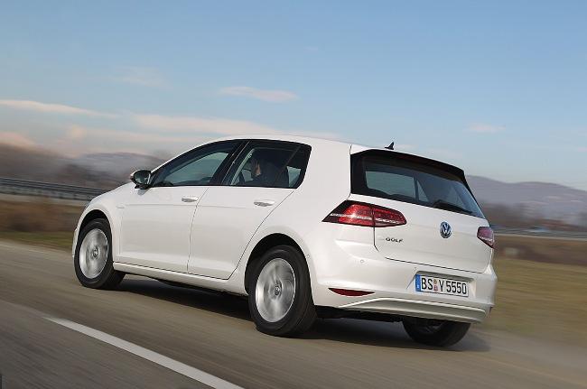 Электрический Volkswagen Golf