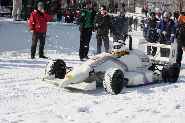 В Киеве пройдут рекордные заезды «Формулы» на льду