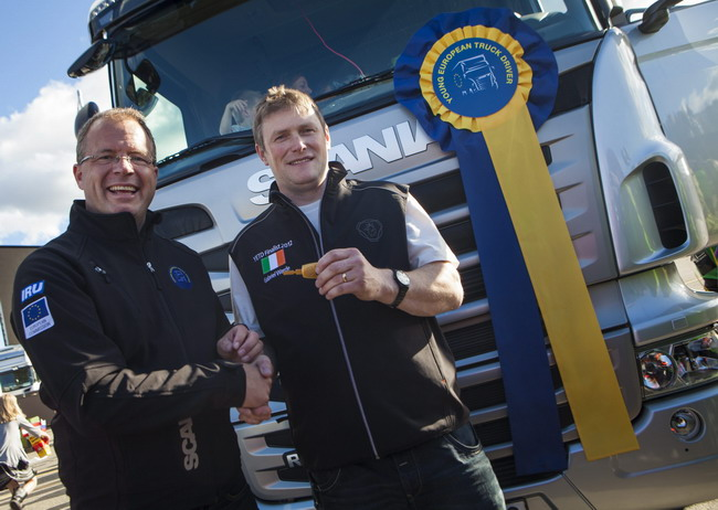 Соревнования Scania Driver Competitions