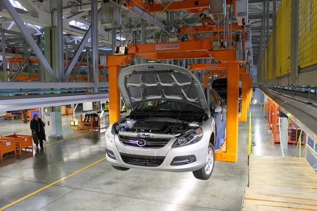 На российском заводе «Дервейс» началось производство кроссовера JAC S5