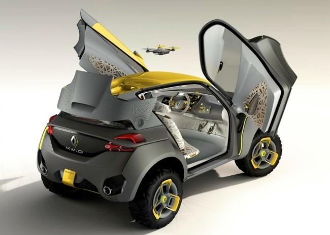 Renault показал концепт с вертолетом