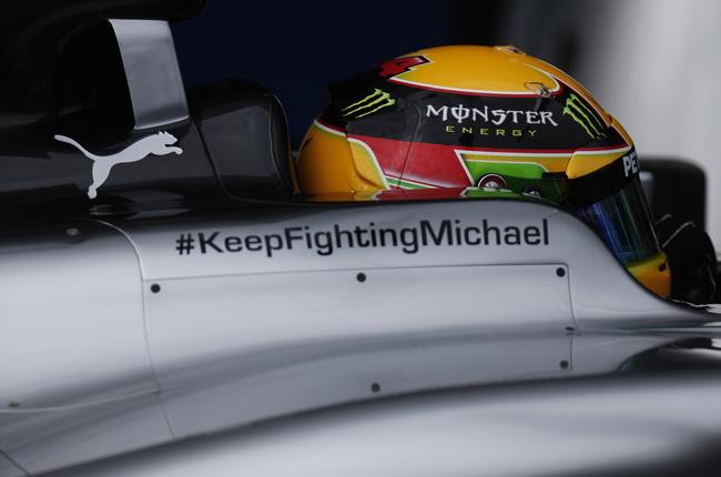 Михаэль Шумахер пошел на поправку