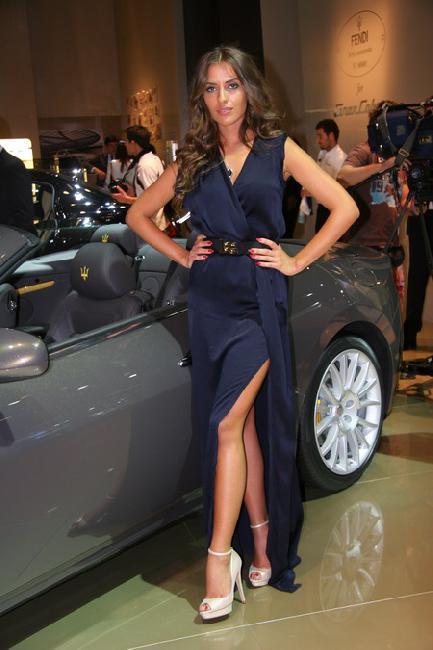 Франкфуртский автосалон 2011: представлен Maserati GranCabrio Fendi