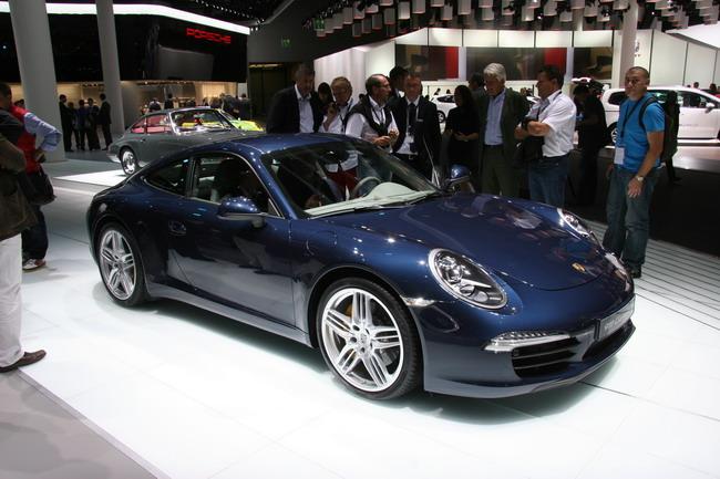 Франкфуртский автосалон 2011: презентация нового Porsche 911