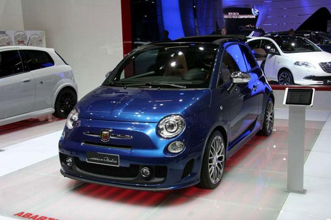 Франкфуртский автосалон 2011: горячие новинки от Fiat Abarth