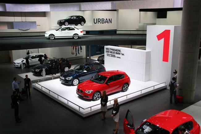 Франкфуртский автосалон 2011: презетанция BMW 1