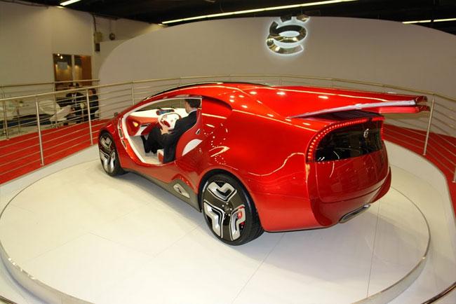 Франкфуртский автосалон 2011: «ё-авто» представил ё-концепт