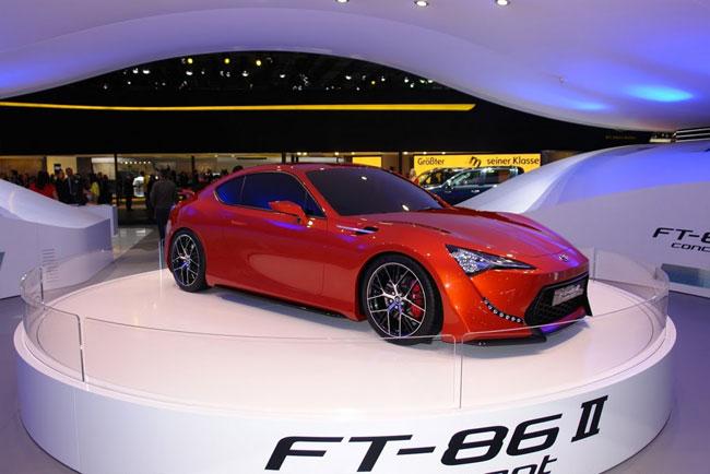 Франкфуртский автосалон 2011: презентован концепт Toyota FT-86 II