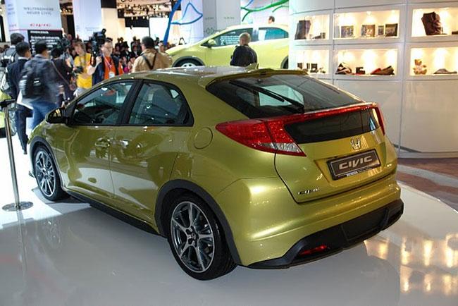 Франкфуртский автосалон 2011: Honda представила новый Civic