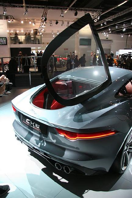 Франкфуртский автосалон 2011: Презентация концепта Jaguar C-X16