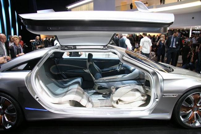 Франкфуртский автосалон 2011: презентация концепта Mercedes F-125