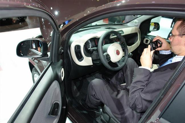 Франкфуртский автосалон 2011: Fiat Panda представлен публике