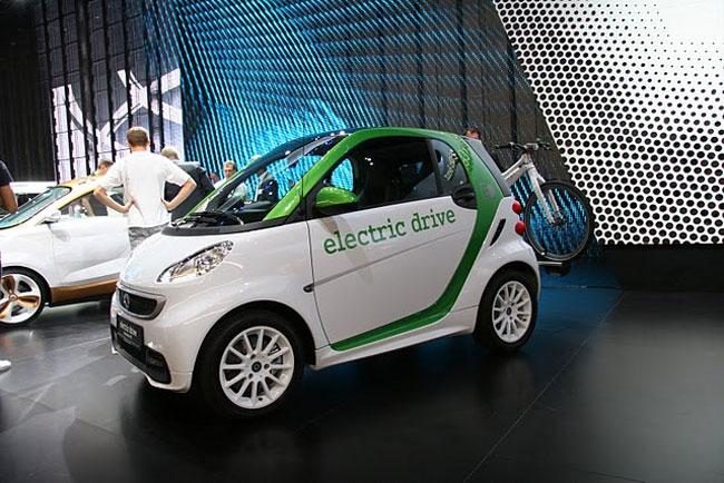 Франкфуртский автосалон 2011: Smart представил концепт Forvision