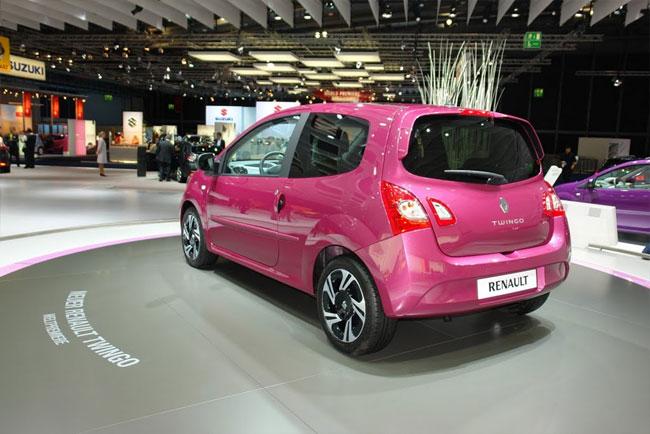 Франкфуртский автосалон 2011: Renault представила обновленный Twingo