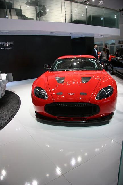 Франкфуртский автосалон 2011: представлен Aston Martin Zagato V12