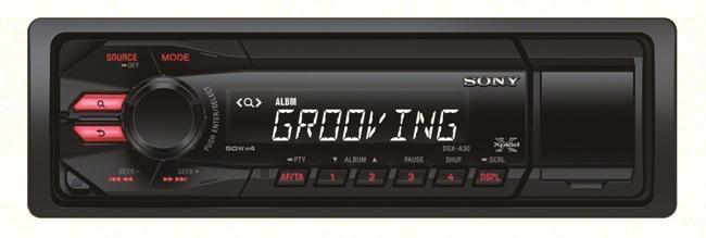 Новая магнитола Sony уже в продаже