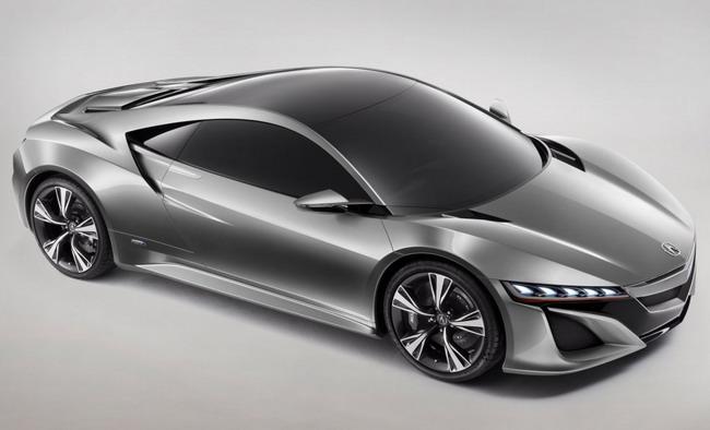 Концепт Honda NSX