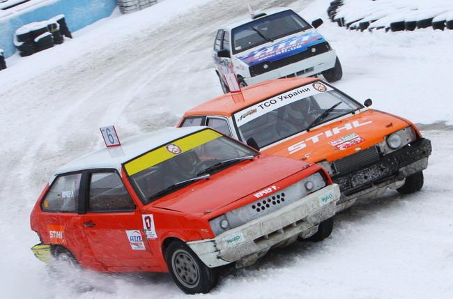 Второй этап серии по зимним трековым гонкам «Большой Приз Автодрома Чайка»