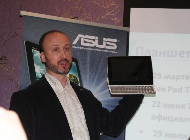 Директор продакт-центра Asus в Украине Евгений Севериновский рассказал и о других моделях марки.