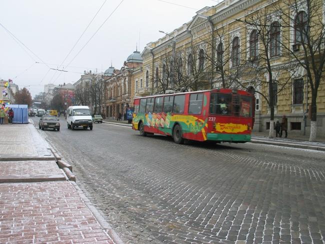 Движение кировоградских автобусов