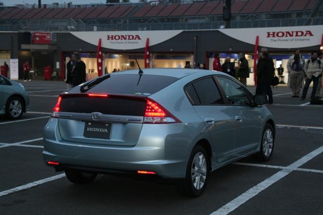 Гибрид Honda Insight для  американского рынка.
