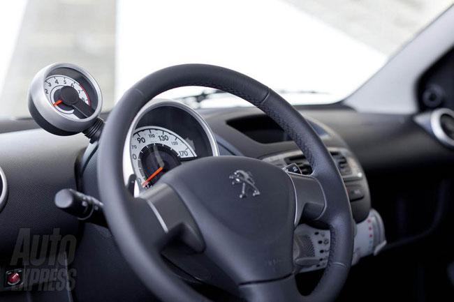 Представлен обновленный Peugeot 107