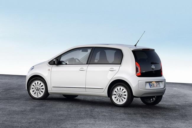 Официально представлен пятидверный Volkswagen up!