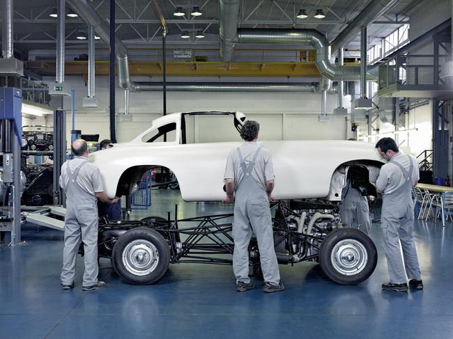 культовый Mercedes-Benz 300 SL