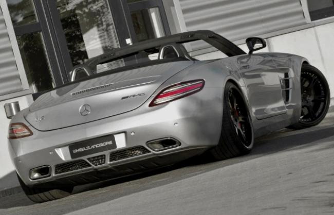 Mercedes-Benz SLS AMG Roadster: тюнинг от Wheelsandmore