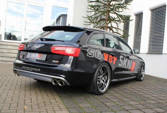 Универсал Audi S6: тюнинг SKN