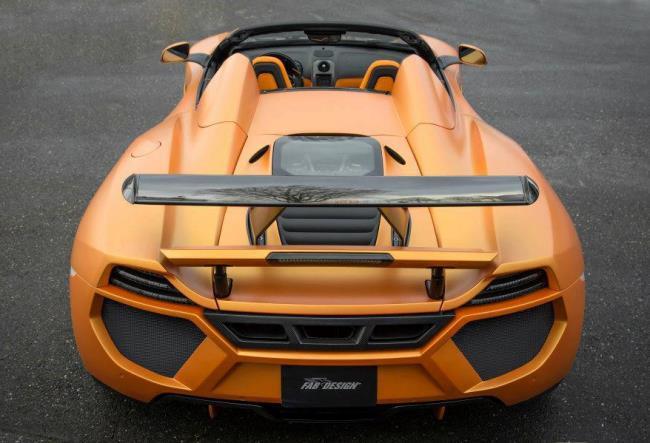 FAB Design Terso 12C Spider на базе McLaren MP4-12C