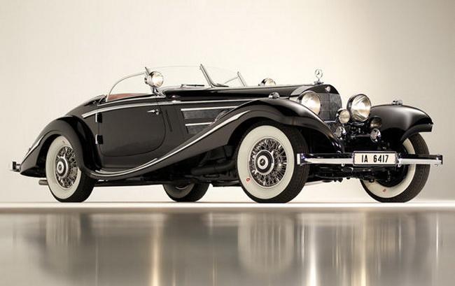 Самые дорогие автомобили в мире 2012: 1936 Mercedes-Benz 540 K Special Roadster