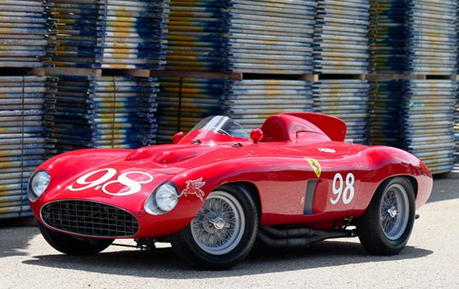Самые дорогие автомобили в мире 2012: 1955 Ferrari 857 Sport