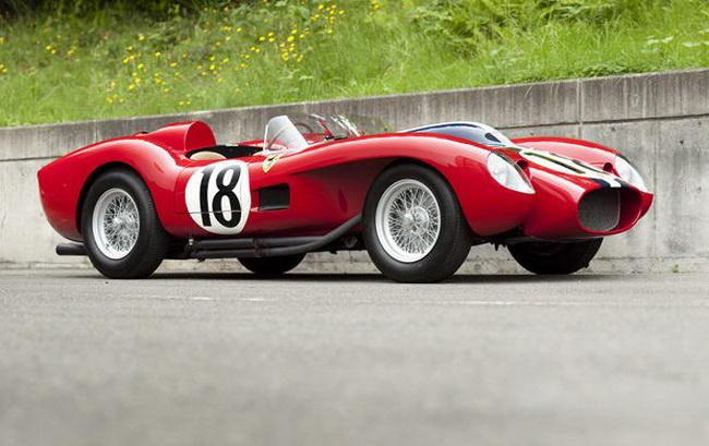 Самые дорогие автомобили в мире 2012: 1957 Ferrari 250 Testa Rossa Prototype