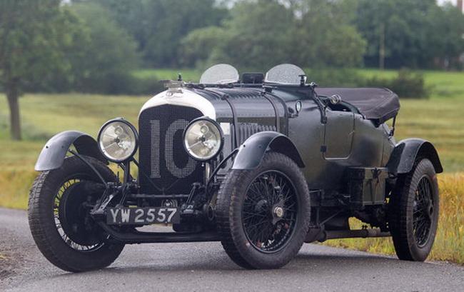 Самые дорогие автомобили в мире 2012: 1928 Bentley 4 ½ Litre Le Mans Sports Bobtail