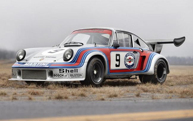 Самые дорогие автомобили в мире 2012: 1974 Porsche 911 Carrera RSR Turbo