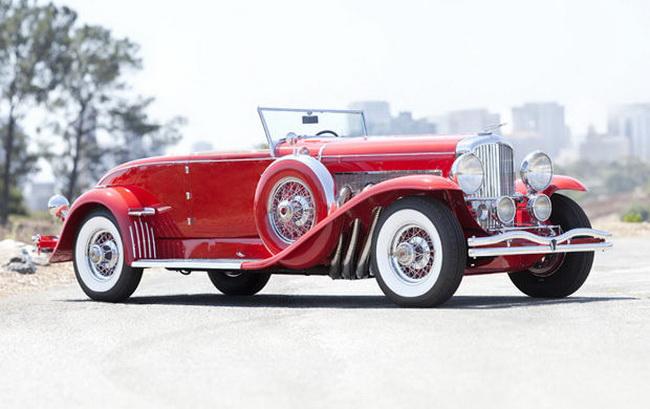 Самые дорогие автомобили в мире 2012: 1930 Duesenberg Model J Convertible Coupe