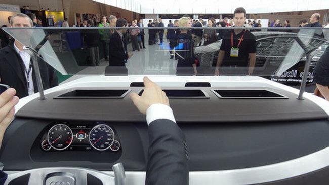Audi оснастит автомобили 3D-дисплеями