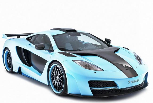 суперкар Blue Hamann MemoR McLaren 12C - тюнинг от Hamann