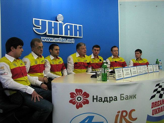 Топ-10 событий мира автоспорта 2012. Dream Team Ukraine