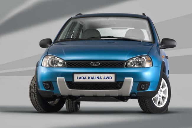 внедорожной версией Lada Kalina