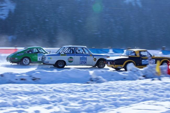 Ледовые гонки на классических автомобилях Historic Ice Trophy