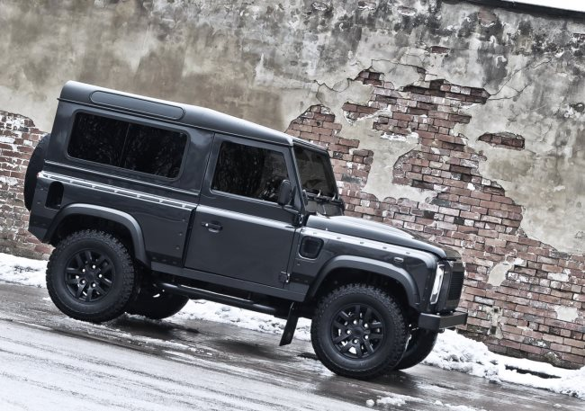 внедорожник Land Rover Defender Military Edition: тюнинг A Kahn Design