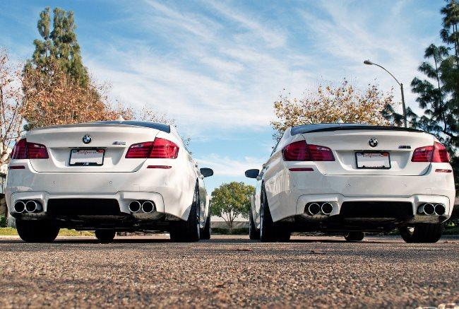 Белые BMW F10M M5